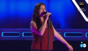 Cristina Saiz en 'La Voz 4'