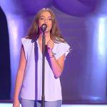 La cantante Cristina Sánchez en 'La Voz 4'