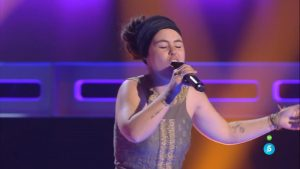 La gallega Lauriska en 'La Voz 4'