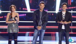 Carlos Torres vence a Cristina Sánchez en su primera batalla de 'La Voz'