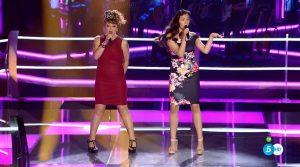 Suzanna Abellán y María Jaraiz se enfrentan en 'La Voz'