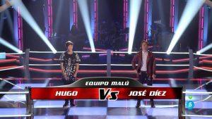 Hugo y José Díez se enfrentan en 'Las batallas'