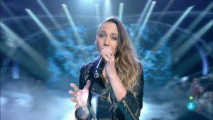 María La Caria canta 'Una última vez' en 'Los directos'