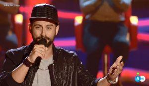 'El luiso' canta 'No me lo creo' en 'La Voz'