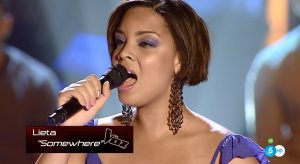 Lieta Molinet canta 'Somewhere' en el 'Último asalto'