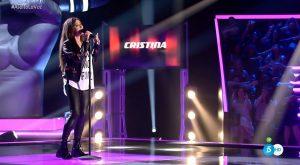 Cristina Saiz canta 'Chandelier' de Sia